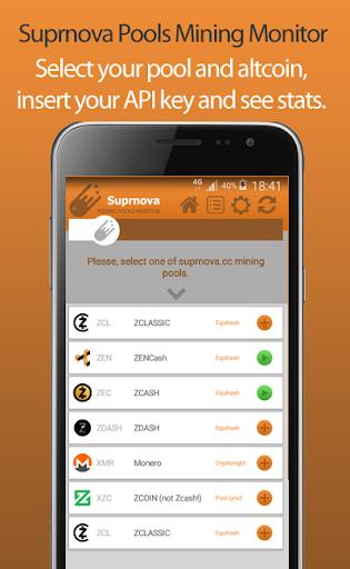 Suprnova Pools Mining Monitor  screenshots 2
