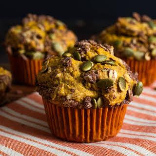 Pumpkin Streusel Muffins.