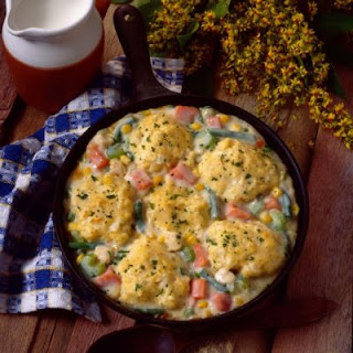 Southern Chicken & Biscuits Casserole