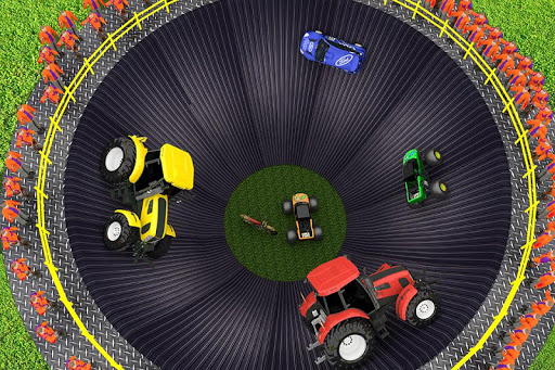 Well of Death Stunts: Tractor, Car, Bike Simulator screenshot 4