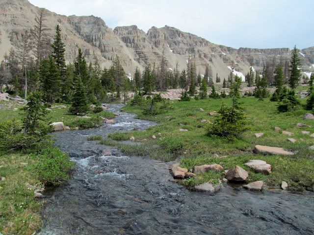 Ostler Fork below Amethyst Lake