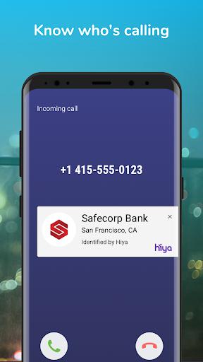 Hiya - Call Blocker, Fraud Detection & Caller ID screenshots 1