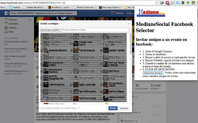 MedianeSocial Facebook PAGE LIKES Selector