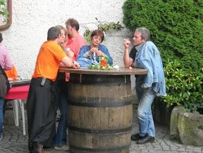 Photo: Erste Gäste