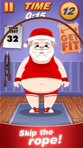Дед Мороз теряет вес скачать на планшет Андроид