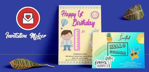 Birthday Party Invitation Maker Free, Text Invitations & Design Wedding Invite