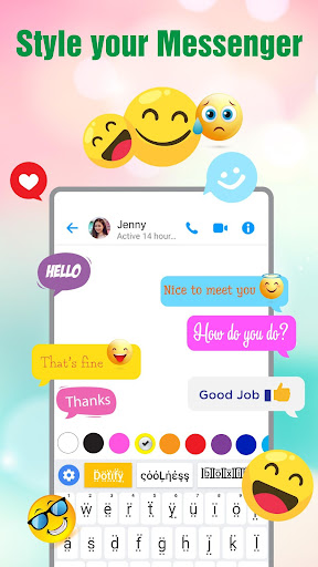 Fonts Keyboard - Text Fonts & Emoji 1.1.4 screenshots 6