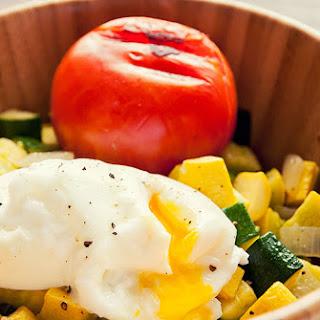 Zucchini and Egg Breakfast.