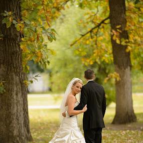 by Devyn Drufke - Wedding Bride & Groom ( farmington lutheran church, wedding )