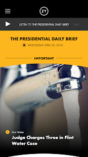 OZY's Presidential Daily Brief- screenshot thumbnail