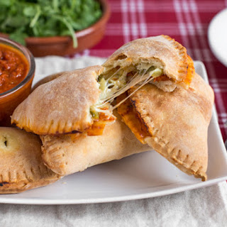 Mini Cheesy Broccoli Calzones.
