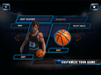 Slam Dunk Real Basketball - 3D Real Shooting King- screenshot thumbnail