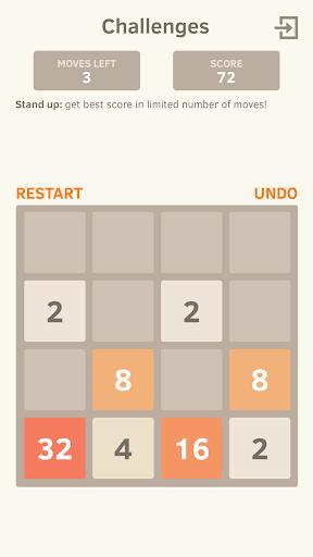 2048 Number puzzle game screenshot 11