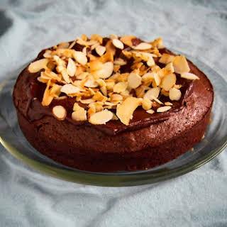 Flourless Chocolate Almond and Coconut Cake.