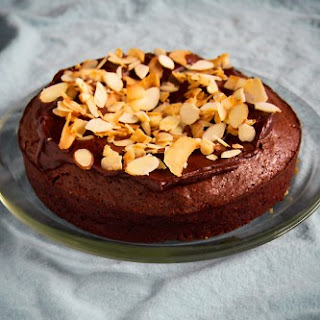 Flourless Chocolate Almond and Coconut Cake.