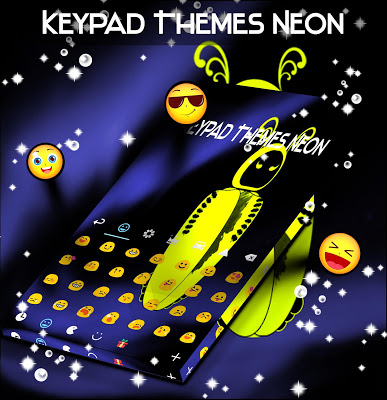 Keypad Themes Neon - screenshot