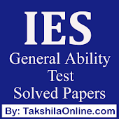 IES General Ability Previous Years Solved Papers