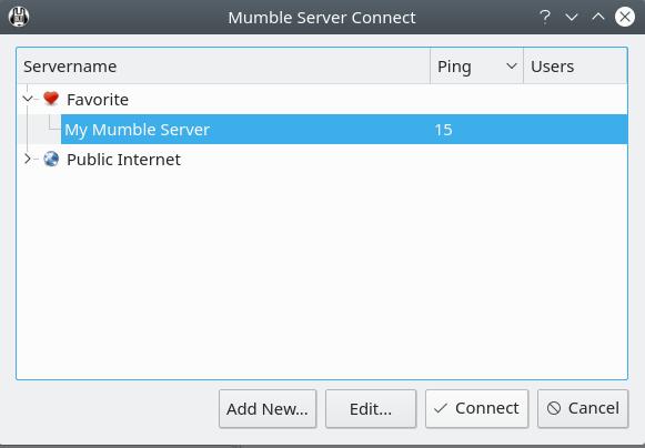 Mumble Server Reachable