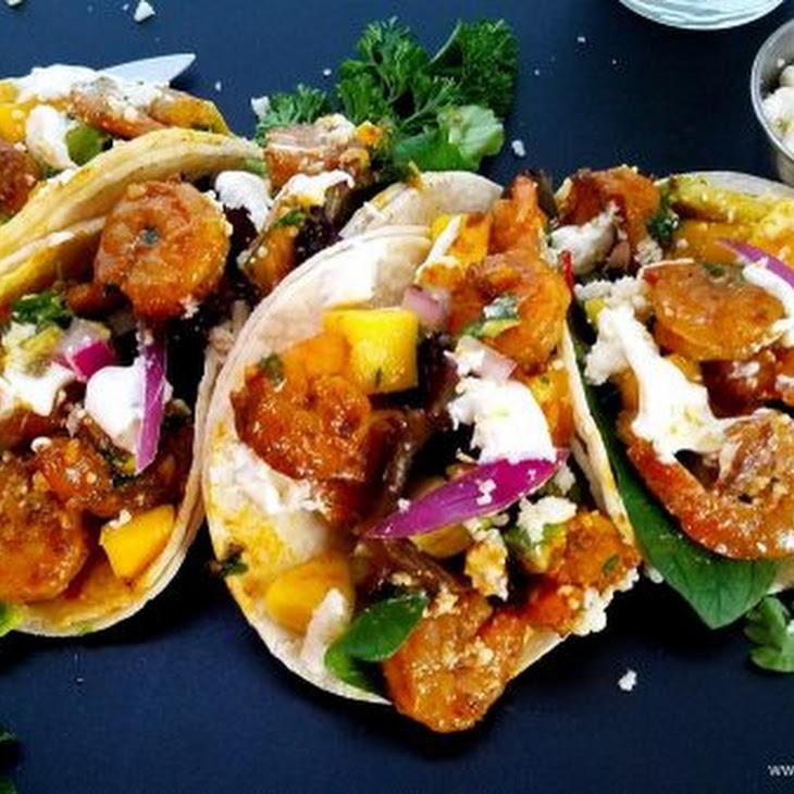 Mojito Shrimp Street Tacos