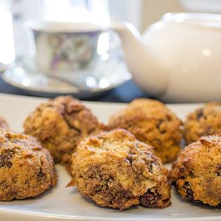 Gluten Free Almond Cranberry Cookies.