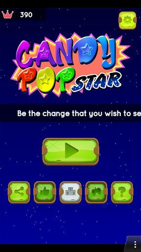 Télécharger Gratuit Bonbons Pop Star (Candy)  APK MOD (Astuce) screenshots 1