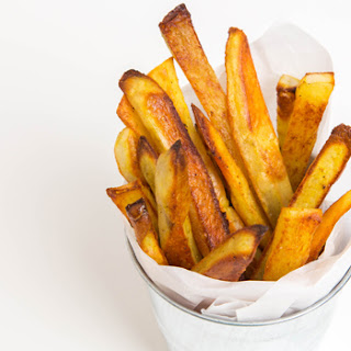 Baked Madras Curry French Fries Recipe