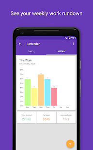 shiftly time tracker and timesheet apps on google play