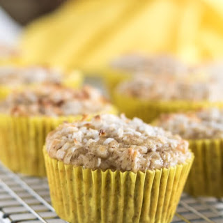 Pineapple Coconut Muffins #GF #V