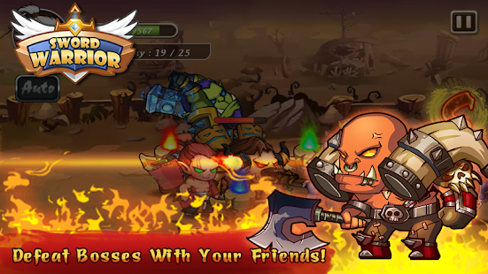 Sword Warriors Premium: Heroes Fight - Epic Action Screenshot