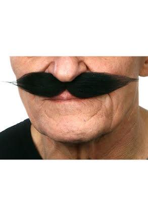 Mustasch Show, svart