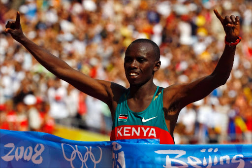 Samuel Kamau Wanjiru was surprise winner at 2008 Olympics in Japan.