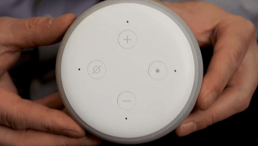 echo dot 3rd generation size