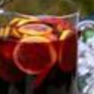 Sangria for a Crowd.