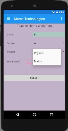 School App 1.0.1 screenshots 2