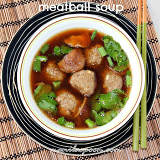Meatballs and Mushroom Soup