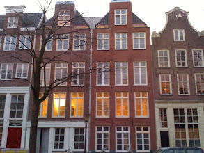 Photo: Bloemgracht, Jackie O's B&B is in the house on the right