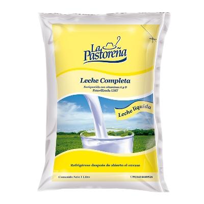 leche la pastorena completa bolsa 1lt