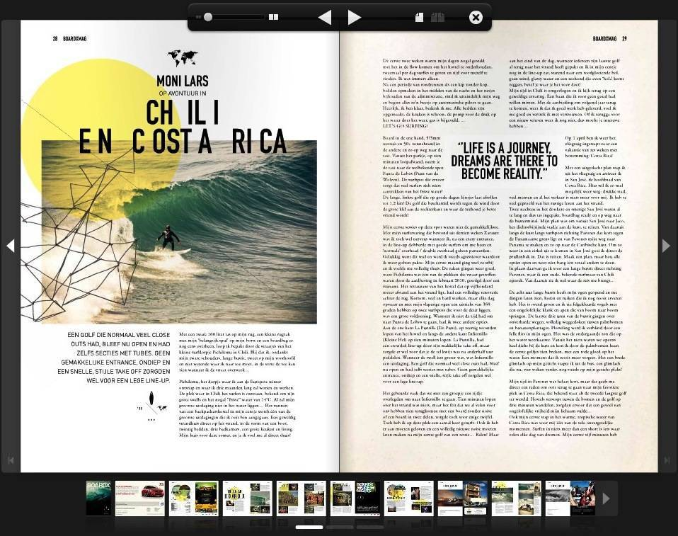 2011, July | Chile & Costa Rica by Boardx Surf Magazine