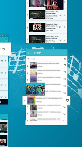 Blue Tunes - Floating Youtube Music Video Player 5.1.1 screenshots 4