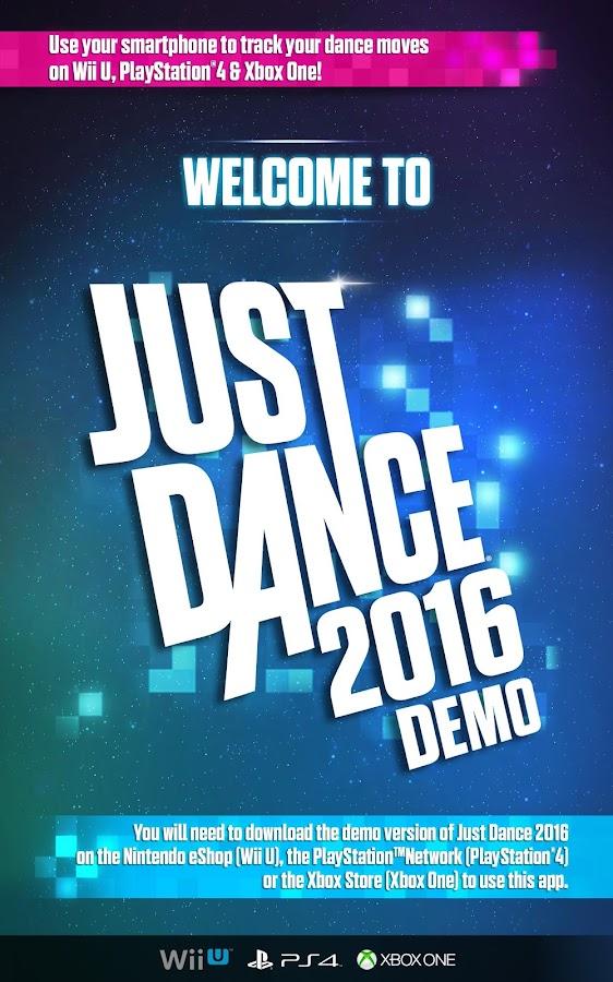 Just Dance 2016 Controller App Demo Signup Ubisoft Us