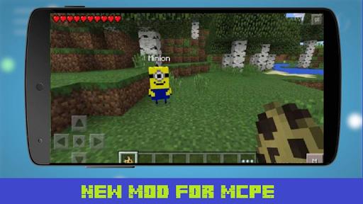 Mod Minions World for MCPE