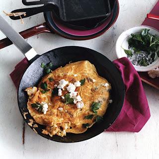 Cauliflower and Feta Omelet