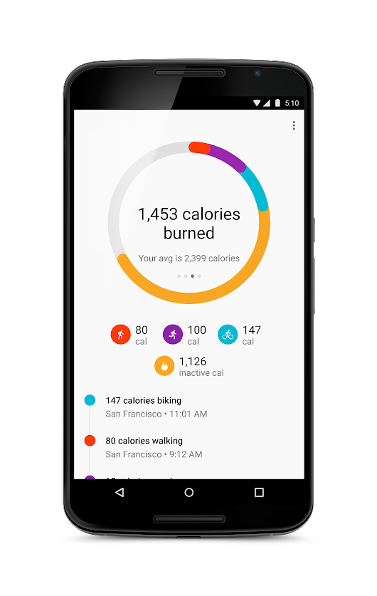 Google Fit: Make every step count