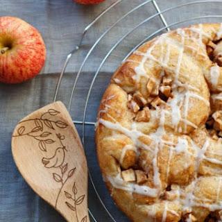 Apple Cinnamon Brioche Pull-Aparts