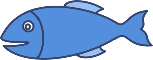 Рыба, рисунок, клипарт