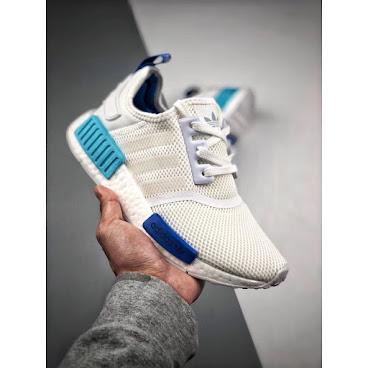 Adidas NMD R1 (White/Blue)
