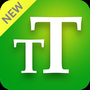 Big Font Enlarge font BigFont Larger Font 3.1.2 by We Choice Mobile logo