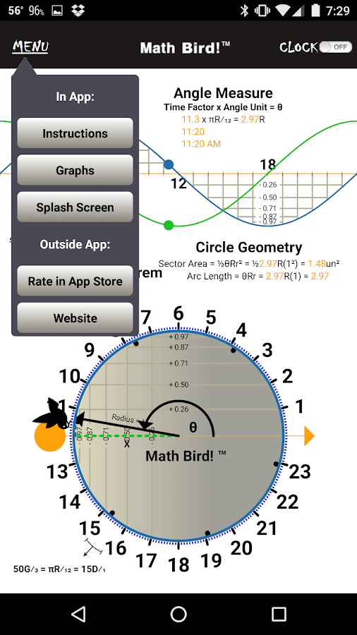 Math Bird! (ad free)- screenshot