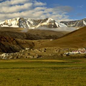 White World mixed with Green by Abhishek Majumdar - Landscapes Mountains & Hills ( madhur, sarbajit, vikram, nitesh, prithvi )