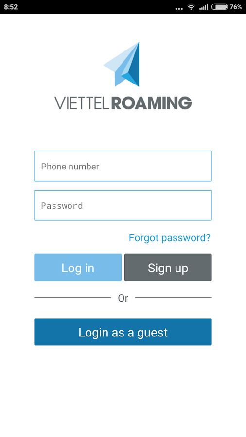 Viettel Roaming- screenshot